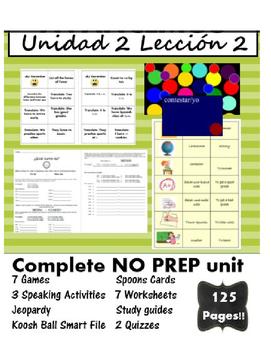 Avancemos 1 Spanish Curriculum!