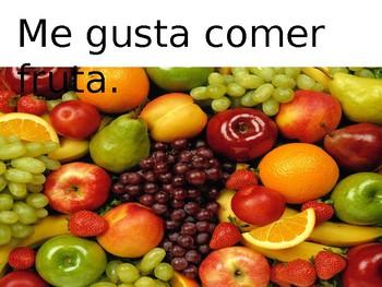 Avancemos 1, U1L1, Food with me gusta/te gusta