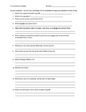 Avancemos 1 U5 Ecuador Worksheet