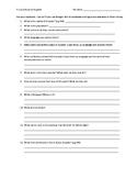 Avancemos 1 U5 Ecuador Worksheet