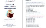 Avancemos 1  Unidad 1 Lección 1  Teaching Material