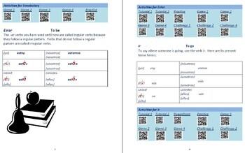 Avancemos 1  Unidad 2 Lección 2 Lessons/Notes/Study Guides