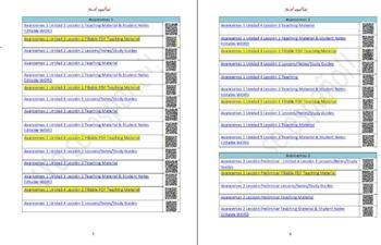 Avancemos 1 Unidad 2 Lección 2 Teaching Material