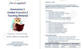 Avancemos 1  Unidad 3 Lección 2  Teaching Material