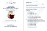 Avancemos 1 Unidad 3 Lección 1 Teaching Material & Student Notes Editable WORD