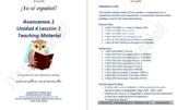 Avancemos 1  Unidad 4 Lección 1  Teaching Material