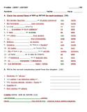 Avancemos 1 Unidad 5 Lección 1 SER vs. ESTAR Quiz
