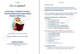 Avancemos 1 Unidad 5 Lección 1 Teaching Material & Student Notes Editable WORD