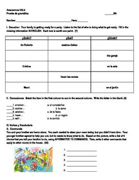 avancemos unidad 5 leccion 2 teaching resources teachers pay teachers