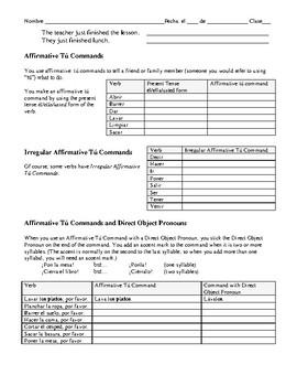 Avancemos 1: Unidad 5, Lección 2 Vocabulary and Grammar