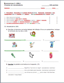 Avancemos 1 Unidad 8 Lección 1 Vocabulary Quiz