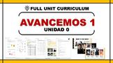 [Spanish] Avancemos 1. Unit 0. Subject pronoun free activity