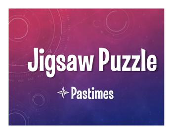 Avancemos 1 Unit 1 Lesson 1 Jigsaw Puzzle