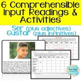 Practice with SER + descriptive adjectives and GUSTAR - CI