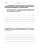 Avancemos 1 Unit 1 Lesson 2 Writing Assignment
