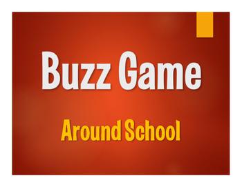 Avancemos 1 Unit 2 Lesson 1 Buzz Game