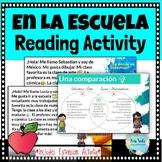 En la Escuela Reading Activities