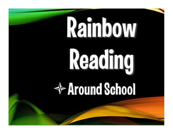 Avancemos 1 Unit 2 Lesson 1 Rainbow Reading
