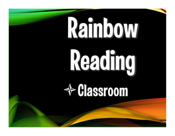 Avancemos 1 Unit 2 Lesson 2 Rainbow Reading