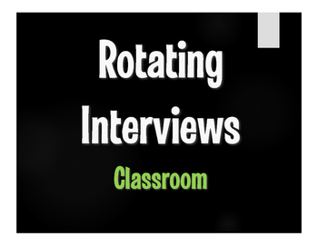 Avancemos 1 Unit 2 Lesson 2 Rotating Interviews