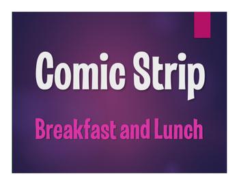 Avancemos 1 Unit 3 Lesson 1 Comic Strip