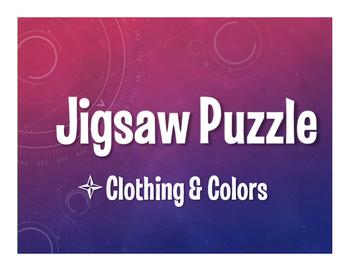 Avancemos 1 Unit 4 Lesson 1 Jigsaw Puzzle