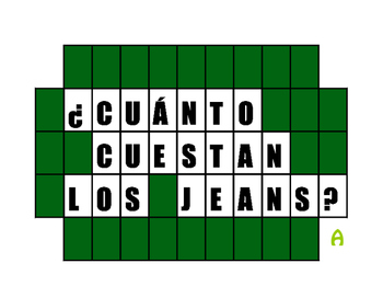 Avancemos 1 Unit 4 Lesson 1 Wheel of Spanish