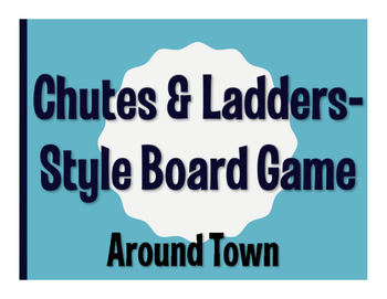 Avancemos 1 Unit 4 Lesson 2 Chutes and Ladders-Style Game