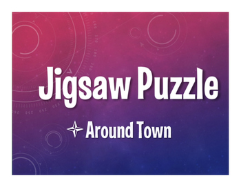 Avancemos 1 Unit 4 Lesson 2 Jigsaw Puzzle