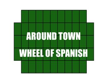 Avancemos 1 Unit 4 Lesson 2 Wheel of Spanish