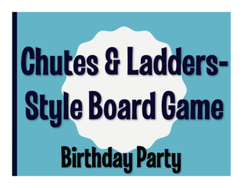 Avancemos 1 Unit 5 Lesson 2 Chutes and Ladders-Style Game