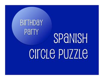 Avancemos 1 Unit 5 Lesson 2 Circle Puzzle