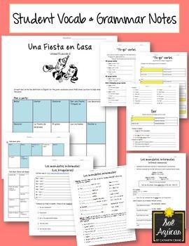 Avancemos 1 Unit 5 Lesson 2 ENTIRE Chapter Curriculum