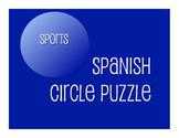 Avancemos 1 Unit 6 Lesson 1 Circle Puzzle