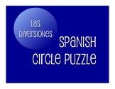 Avancemos 1 Unit 7 Lesson 2 Circle Puzzle