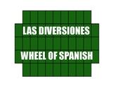 Avancemos 1 Unit 7 Lesson 2 Wheel of Spanish