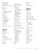 Avancemos 1 - Verb Glossary List - Unidades 1-8