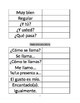 Avancemos 1A Preliminary Unit Vocab List-Greetings/Goodbyes