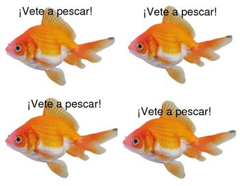 Avancemos 1A: U3L2 Go fish game with vocab