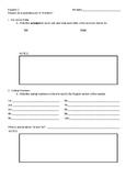 Avancemos 1B Mid-term Grammar Study