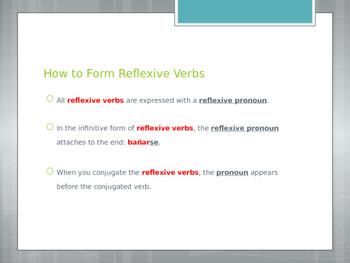 Avancemos 2.2.2 Reflexive Verbs