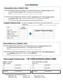 Avancemos 2: Unit 3 Lesson 2 Grammar Notes