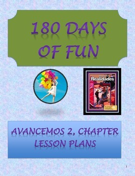 Avancemos 2, Unit 3 Lesson Plans