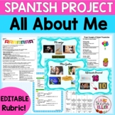 Spanish All About Me Project | Spanish 1 Review Project |