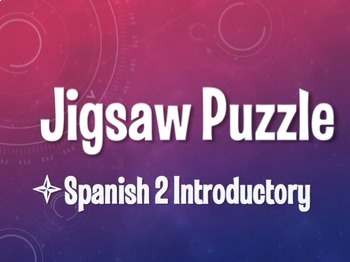 Avancemos 2 Bundle: Jigsaw Puzzles