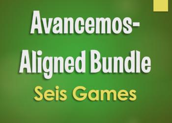 Avancemos 2 Bundle: Seis Games
