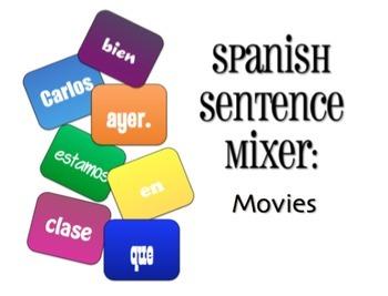 Avancemos 2 Bundle: Sentence Mixers