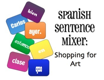 Avancemos 2 Bundle: Sentence Mixers