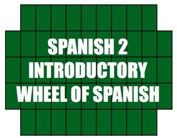 Avancemos 2 Bundle: Wheel of Spanish
