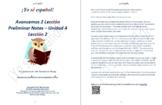Avancemos 2 Lección Preliminar - Unidad 4 Lección 2 Lessons/Notes/Study Guides